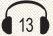אוזניות 13