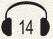 אוזניות 14