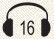 אוזניות 16